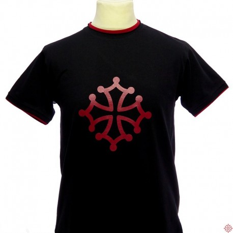 T-shirt croix occitane logo occitanie Class'Oc