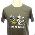 T-shirt homme en gascon A hum de calhau !
