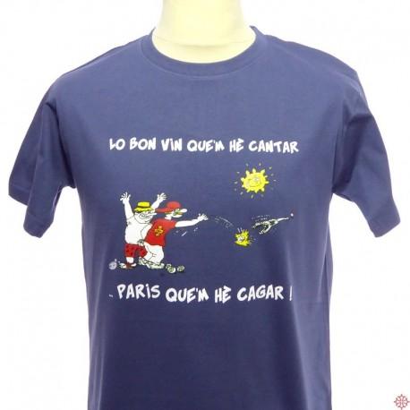T-shirt Lo bon vin que'm hè cantar