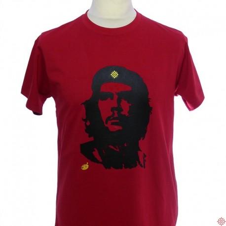 T-shirt homme Che Guevara beret croix occitan humour