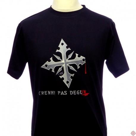 T-shirt humoristique marseille homme Crenhi pas degun