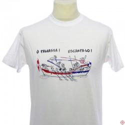 T-shirt languedoc ville de Sète, Mèze, Palavas, Joutes