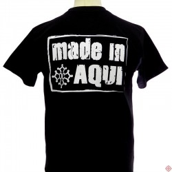 T-shirt homme humour occitan  Made in aquí