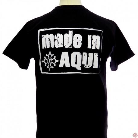 T-shirt humoristique occitan Made in aquí