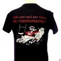 T-shirt homme occitan humoristique rugby Rasonaments