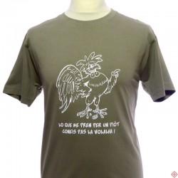 T-shirt homme occitan humoristique  Piòt