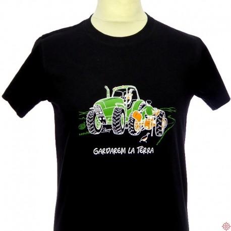 T-shirt humoristique occitan homme Tracteur
