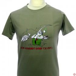 T-shirt homme Humour occitan Pescaire