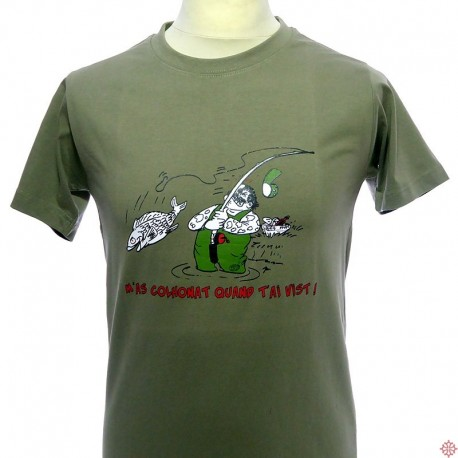 T-shirt humoristique occitan Pescaire