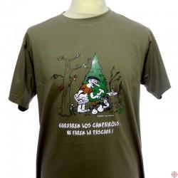 T-shirt homme humoristique en occitan  Campairòls