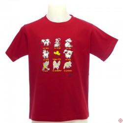 T-shirt enfant Animals - les animaux en occitan