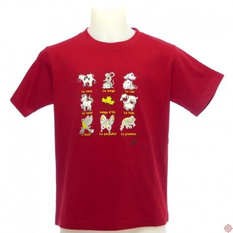 T-shirt enfant Animals