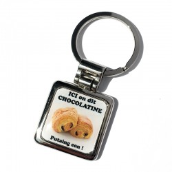 Porte-clefs chocolatine