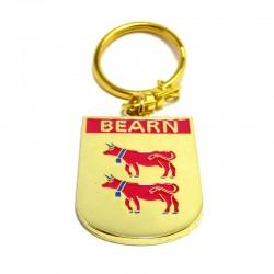 Porte-clefs blason Bearn