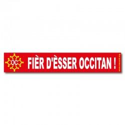 Autocollant Fièr d'èsser occitan