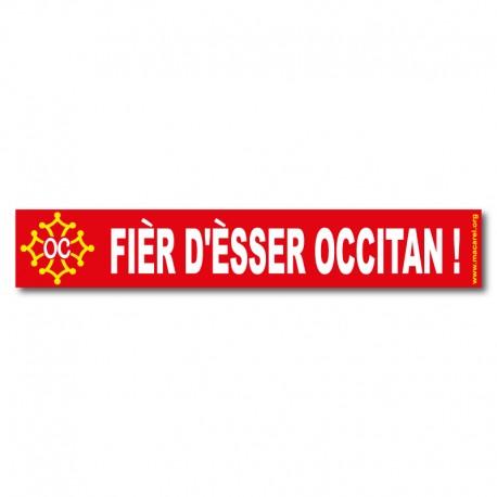 Autocollant Fièr d'èsser occitan !
