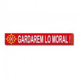 Autocollant Gardarem lo moral