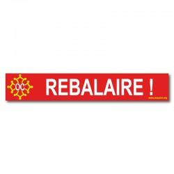 Autocollant Rebalaire