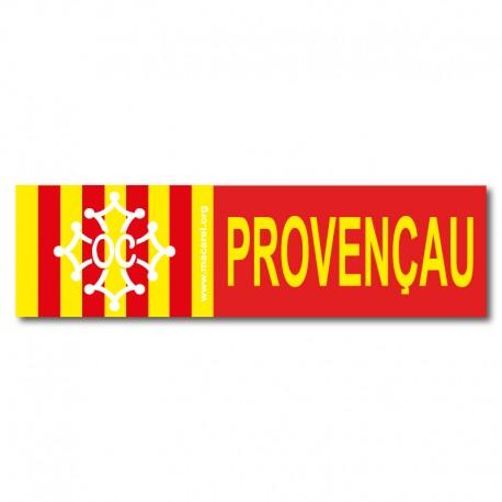 Autocollant Provençau