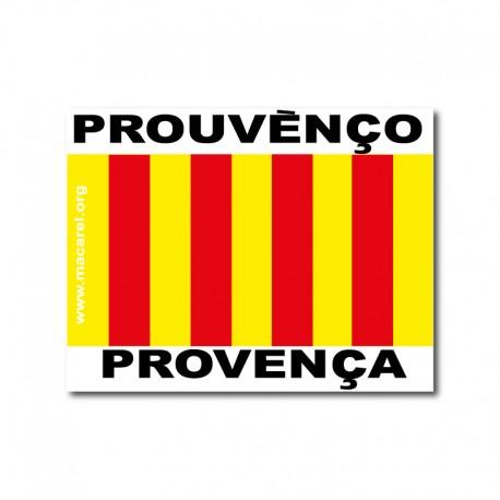 Autocollant Prouvènço / Provence