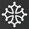 Sticker croix occitane 7 cm