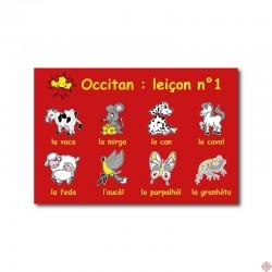 Carte postale Occitan leçon n°1