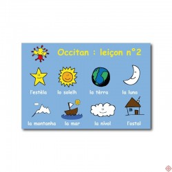 Carte postale Occitan leçon n°2