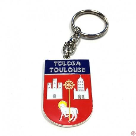 Porte-clefs blason Toulouse