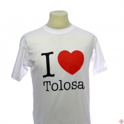 T-shirt homme I love Tolosa