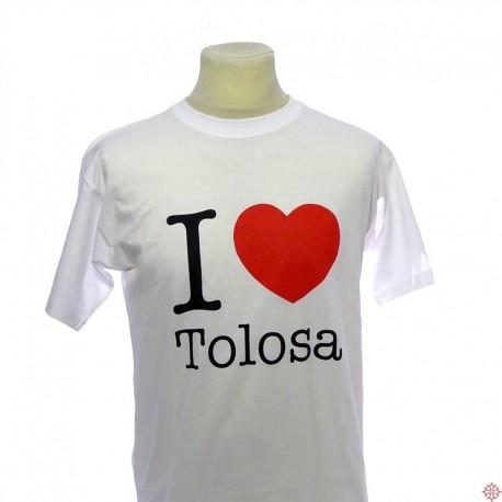 T-shirt toulouse occitan I love Tolosa