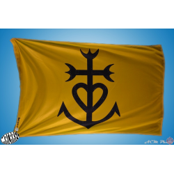 drapeau Camargue blason Croix camarguaise