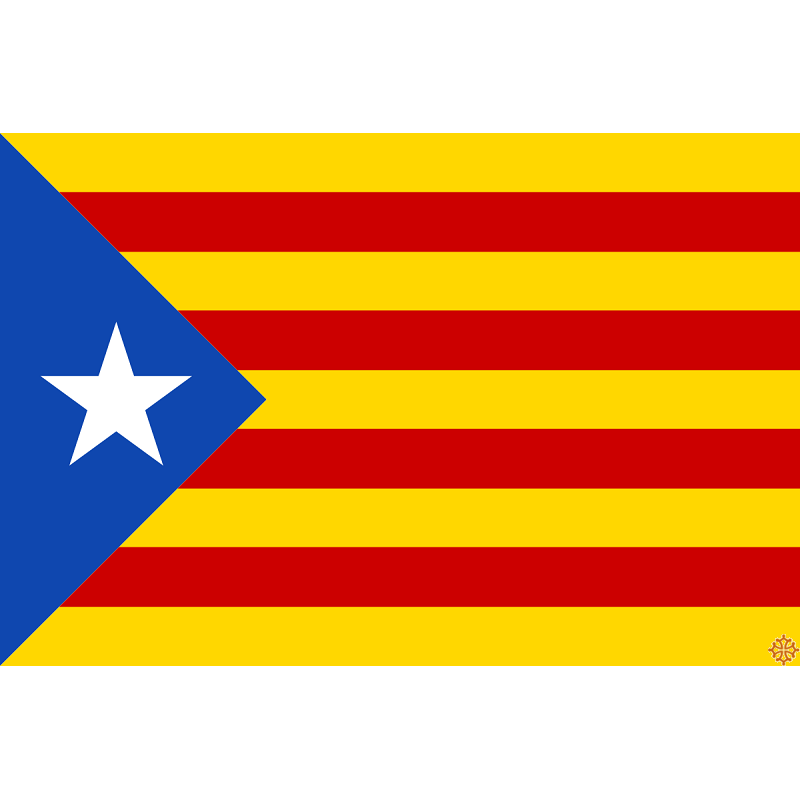 Image result for drapeau catalan