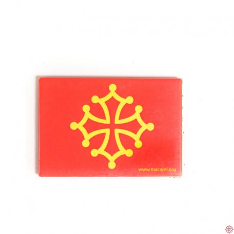 magnet drapeau occitan