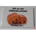 magnet chocolatine