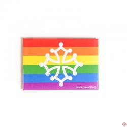 magnet arc-en-ciel Oc pride