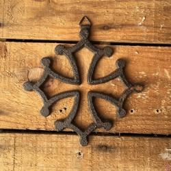 croix occitane murale 12cm