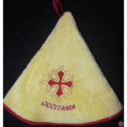 Essuie-mains éponge croix occitane qualité luxe