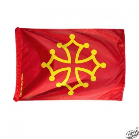 drapeau occitan pavillon languedoc étendard occitanie