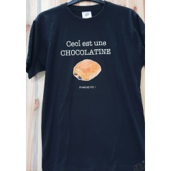 T-shirt chocolatine