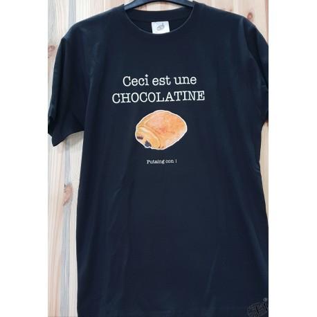 T-shirt chocolatine humoristique occitan