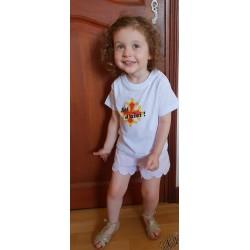 t-shirt bébé croix occitane Soi d'aici