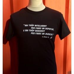 t-shirt homme humoristique en occitan La Sauze