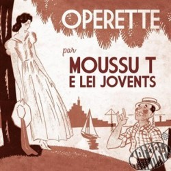 "CD ""Opérette"" de Moussu T"
