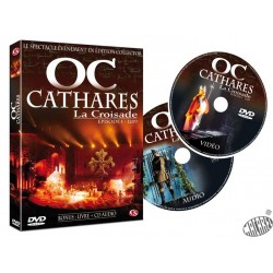 Dvd d'Oc Cathares La croisade