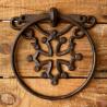 porte-serviette fonte croix occitane par 3
