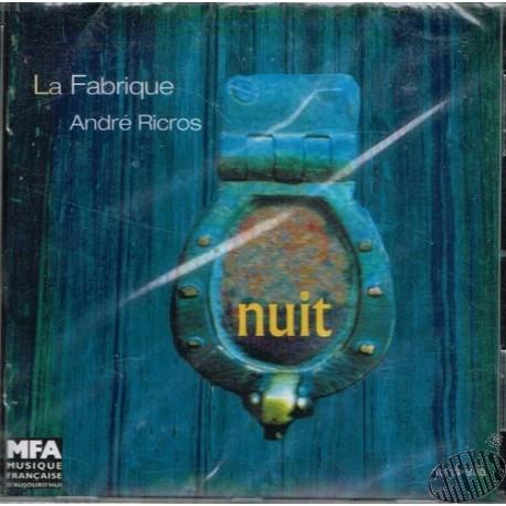 """CD La Fabrique """"Nuit"""""""