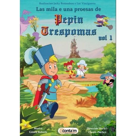 DVD Pepin Trespomas vol. 1