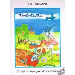 Livre + 2CD Turlututu 1 de La Talvera