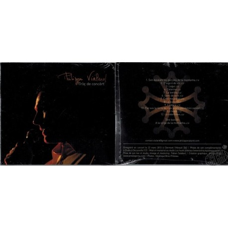 "CD de Philippe Vialard ""Tròç de concèrt"""