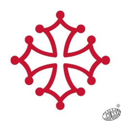 Tatouage éphémère Croix occitane